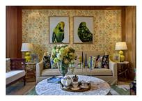 美式田园风格客厅设计装修