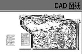 某滨河公园规划总平面