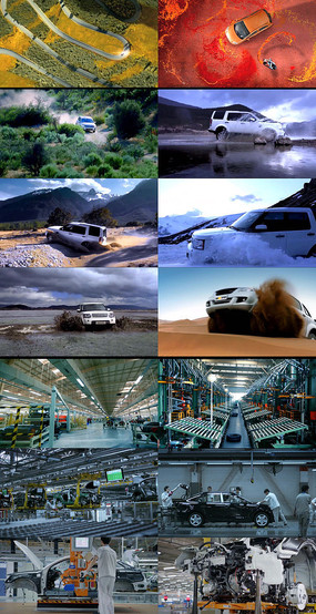 汽车广告动态视频