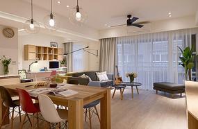 日式小清新客厅装修设计