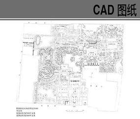 苏州园林之留园平面图