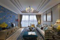 新中式住宅客厅设计