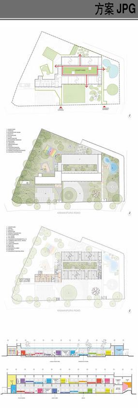 幼儿教育中心建筑设计方案