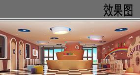 幼儿园大厅效果图 JPG
