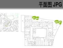 幼儿园建筑布局平面图