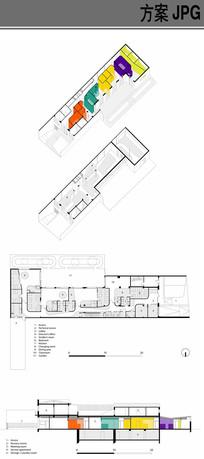 幼儿园建筑布局设计 JPG