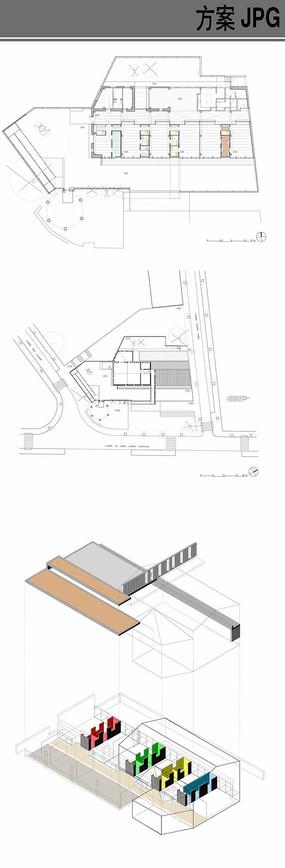 幼儿园建筑方案