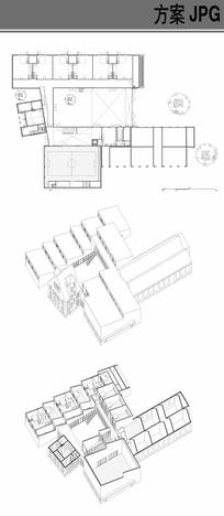 幼儿园建筑室内布局设计