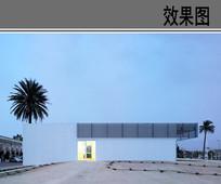 幼儿园建筑外立面效果图 JPG