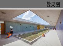幼儿园建筑中庭空间设计