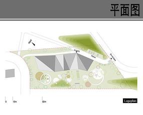 幼儿园景观环境平面图