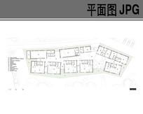 幼儿园平面布局设计图 JPG