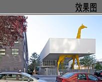 幼儿园特色建筑外观效果