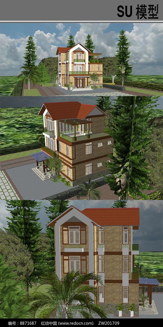 住宅别墅建筑图片