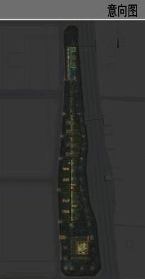 21地块公园景观夜景设计图