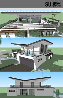 V字屋顶建筑