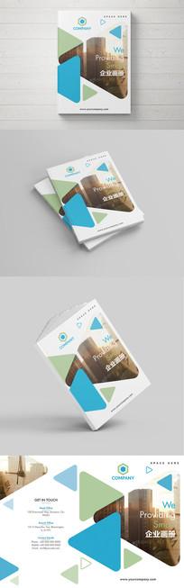 大气时尚创意企业画册封面