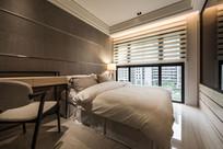 港式高层住宅卧室效果图