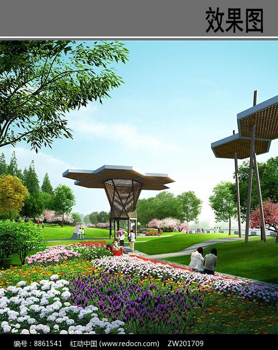 公园景观小品图片