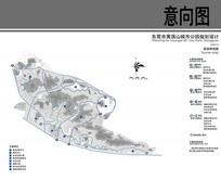 黄旗山公园规划设计旅游路线图 JPG