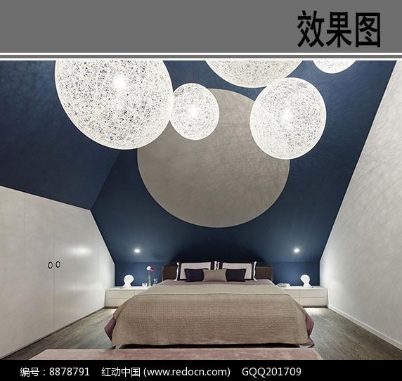 梦幻风格卧室效果图图片