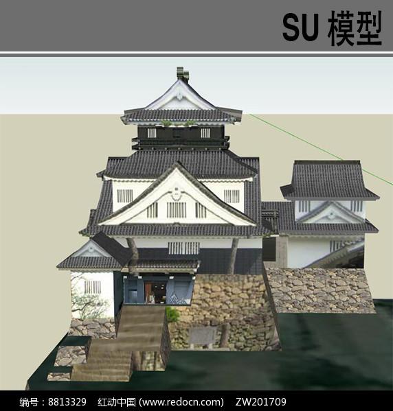 日本古典居住建筑图片