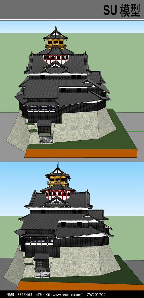 日本古建筑图片