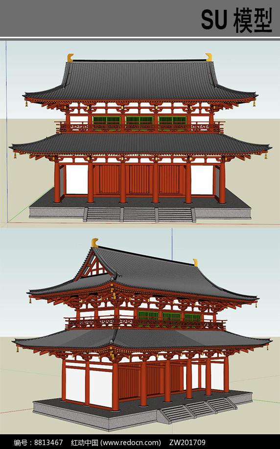 日本古建筑寺庙图片