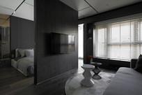 卧室电视机背景墙设计