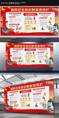 消防知识宣传展板