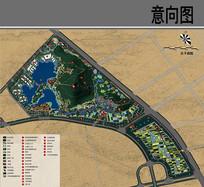 真山公园景观规划总平面图
