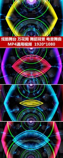 动感光线节奏变化闪动视频