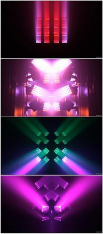 动感舞台灯光秀动态视频