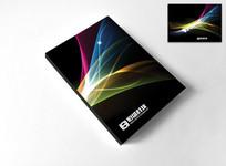 黑色商务科技封面设计