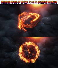 粒子爆炸特效背景视频