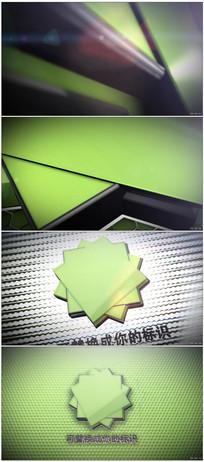 三维游戏Logo片头动画视频