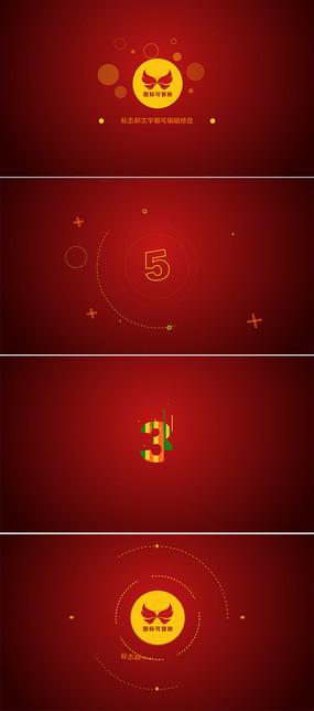 3组简洁企业标志展示ae模板