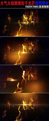 大气火焰燃烧视频素材下载