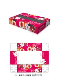 蜜桃水果包装设计