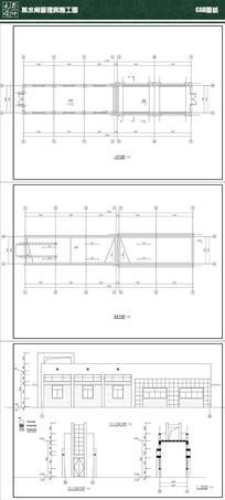 某水闸方案CAD dwg