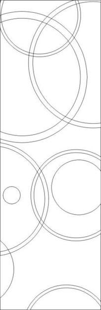 环环相扣雕刻图案