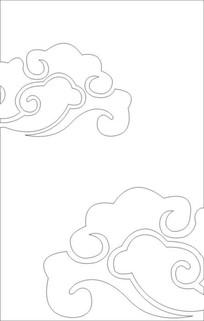 玉砂云雕刻图案