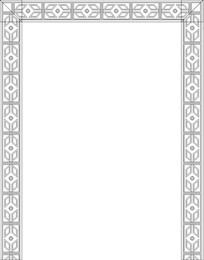 菱形雕刻图案