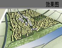 美丽乡村规划设计模型图