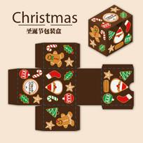 圣诞节礼品盒包装素材