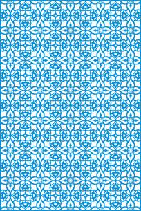 几何艺术雕刻图案