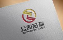 金融理财投资融资logo AI