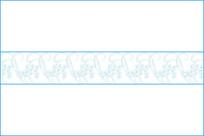 卷草花纹移门图案