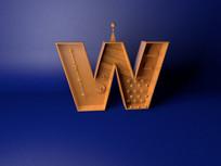 字母W设计