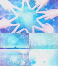 歌曲青春纪念册舞台背景视频